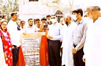 ময়মনসিংহে একাধিক নির্মাণ কাজের উদ্বোধন করেন মেয়র ইকরামুল হক টিটু