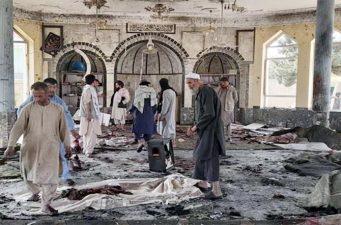 আফগানিস্তানে মসজিদে ভয়াবহ বিস্ফোরণ,১০০ জন নিহত