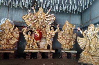 দিনাজপুরে শারদীয় দুর্গাপূজায় আইন শৃঙ্খলা বাহিনী প্রস্তুত